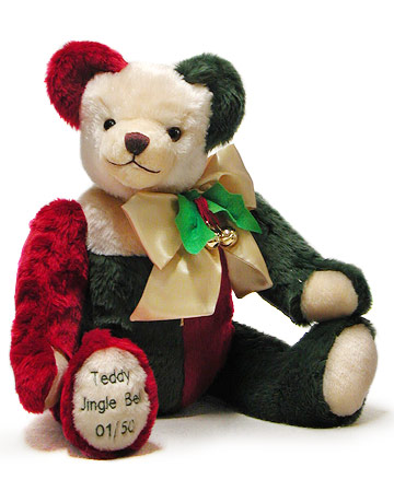 Big Teddy Jingle Bell 22572-8
