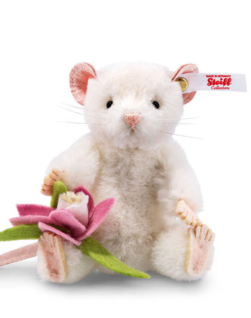 Lizzy Mouse, White EAN 021091