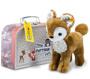 Posh Pattern Pets Darlin Deer In Suitcase EAN 045486