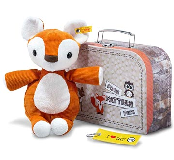 Posh Pattern Pets Phil Fox In Suitcase EAN 045097