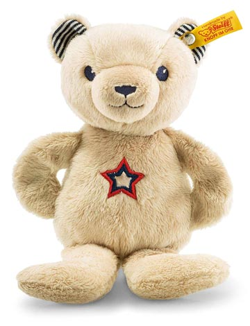 Teddy Bear Band Niklie Beige With Rustling & Rattle EAN 241161