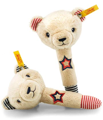 Teddy Bear Band Niklie Bear Rattle Set EAN 241185