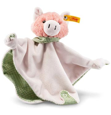 Happy Farm Piggilee Pig Comforter With Rattle EAN 241017