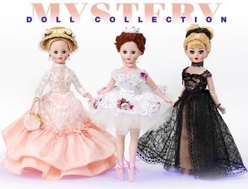 2017 Mystery Doll Set Of 3