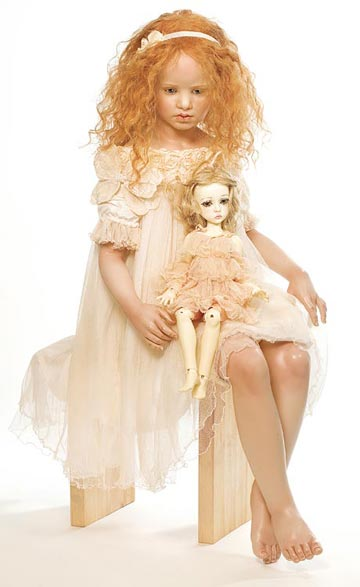 Eliana With BJD, Porcelain