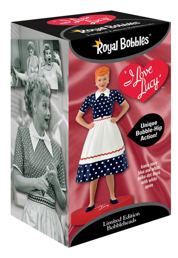 Lucille Ball Bobble Hips by Royal Bobbles