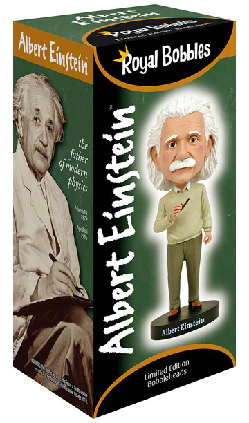Albert Einstein Bobblehead by Royal Bobbles