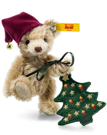 Nico Teddy With Christmas Tree EAN 026782