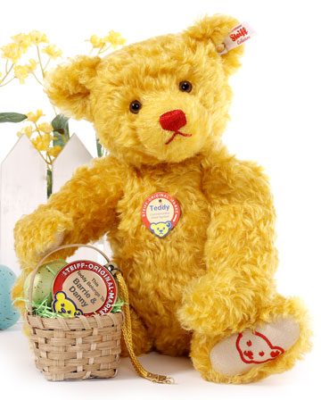 Teddy, The Commemorative Chest Tag Bear w/Personalized Medallion
