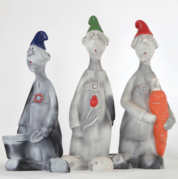 Garden Gnomes Set of 3