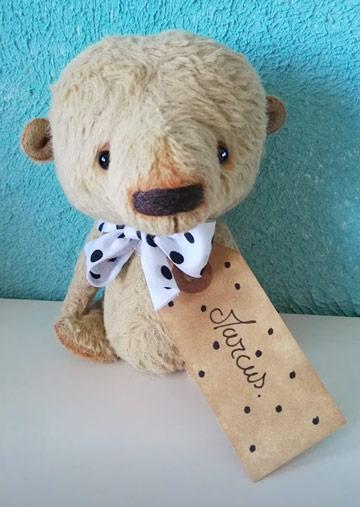 Marcus Bear by Designs by Sylvie