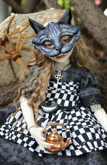 Dark Alice BJD by Turtle Child Studio, Kori Leppart