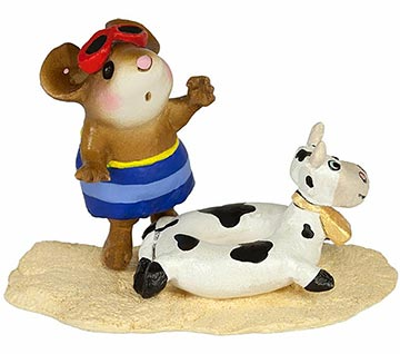 Tiny Tubie Cow M-349d