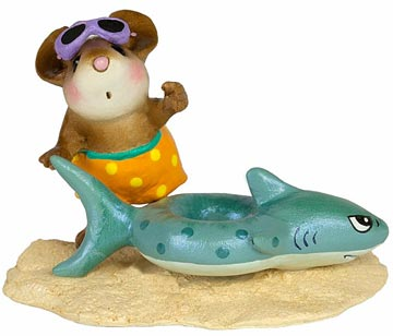 Tiny Tubie Shark M-349e by Wee Forest Folk