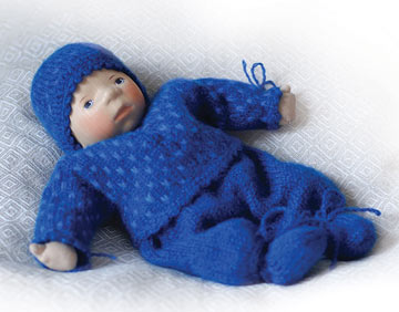 Baby In Royal Blue Knit M218