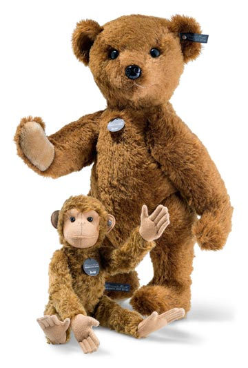 Richard Teddy Bear and Affe Monkey EAN 421433