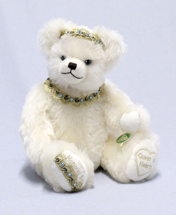 Queen Of Hearts Princess Diana Memorial Bear 13183-8