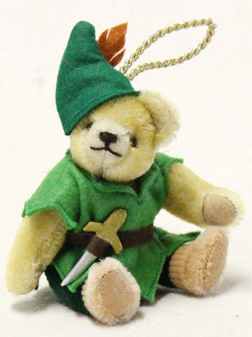 Peter Pan Teddy Ornament 22332-8