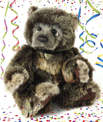 Wojtek the 2017 Charlie Bears Birthday Bear