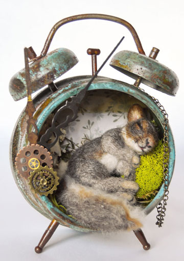 Lost Time, Steampunk Nesting Squirrel