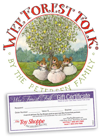 Wee Forest Folk Gift Certificate