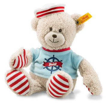 Down By The Sea Sailor Teddy Bear, Beige EAN 241468