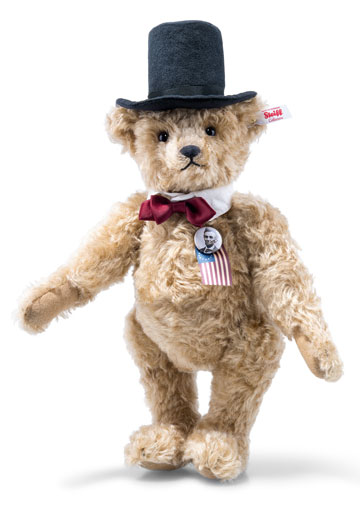 Abraham Lincoln Musical Teddy Bear EAN 683367
