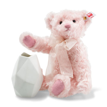 Rose Teddy Bear With Vase EAN 006760