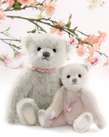 Love Teddy Bear, Lilac EAN 006494 by Steiff