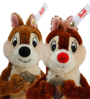 Disney Chip 'n Dale Set by Steiff