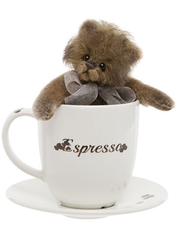 Espresso Bear by Charlie Bears