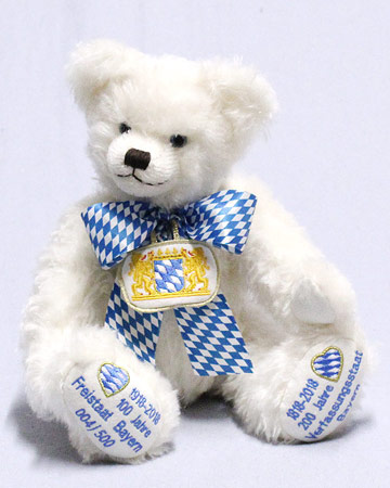 We Celebrate Bavaria Jubilee Bear 19903-6