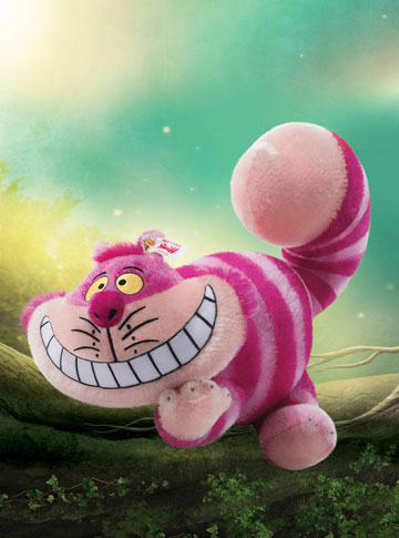 Cheshire Cat with FREE Alice Box by Steiff