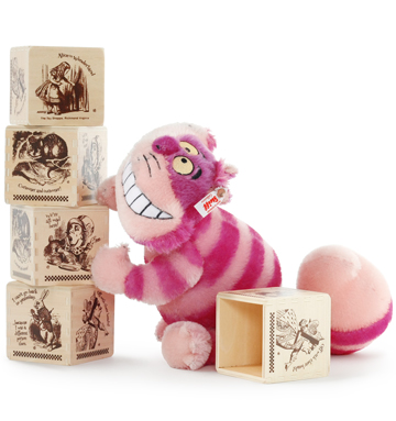 Disney Cheshire Cat with FREE Alice Box