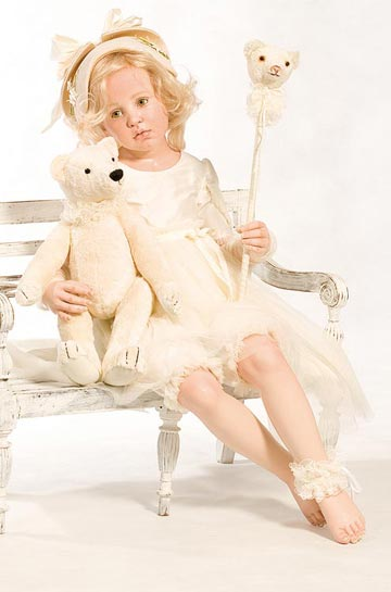 Eloise With Her Bear, Porcelain