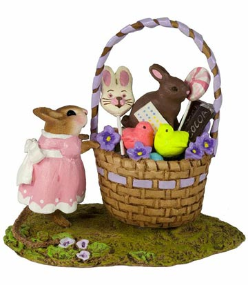 Her Easter Goodie Basket M-523a