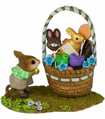 His Easter Goodie Basket M-523b