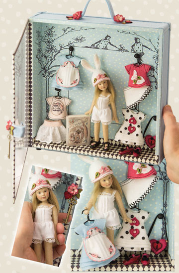 Alice Trunk Doll by Maggie Iacono