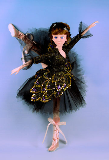 Odile Marie, Black Swan by My Ballerina Dolls
