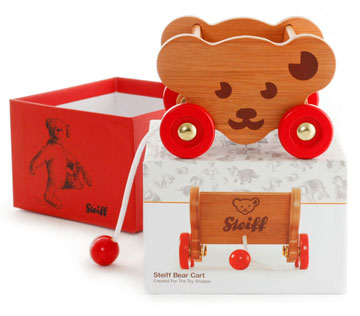 Steiff Bear Cart by Steiff