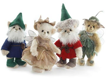 Charlie Bears Gnome and Fairy Set