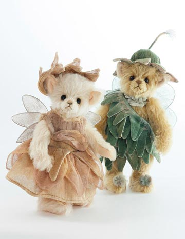 Charlie Bears Gnome and Fairy Set by Charlie Bears