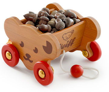 Steiff Bear Cart