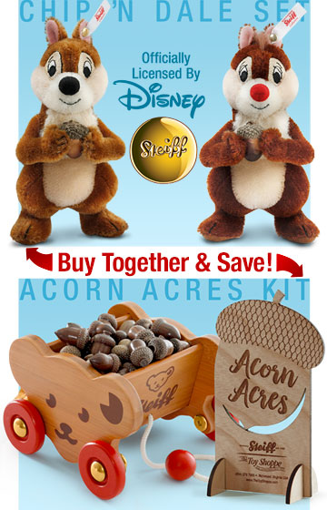 SPECIAL OFFER! Buy Chip & Dale Set With Acorn Acres Kit