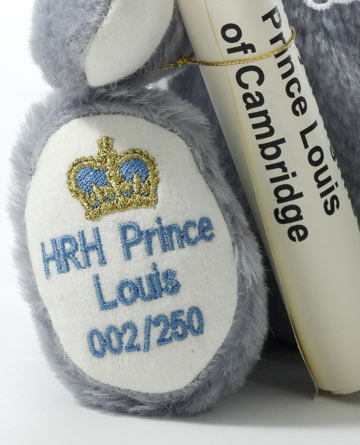 A Little Prince Is Born, HRH Prince Louis of Cambridge 13179-1 by Hermann-Spielwaren GmbH