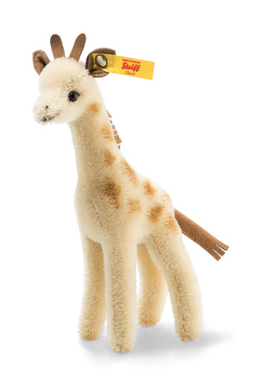 Giraffe With Wildlife Giftbox 026942 by Steiff