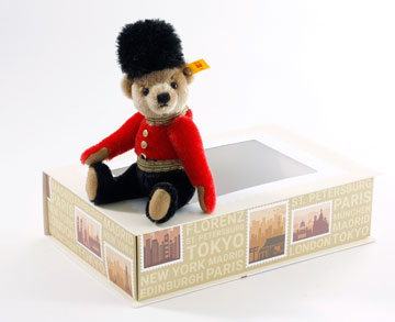 Great Escape London Teddy In Gift Box 026867