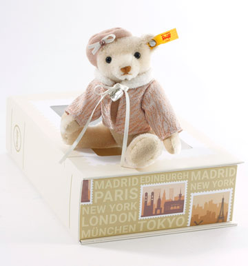 Great Escape Paris Teddy In Gift Box 026881