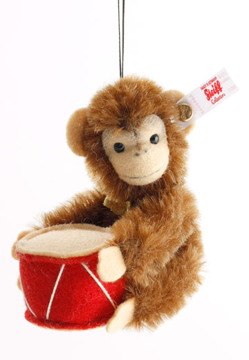 Jocko Monkey Ornament 006340