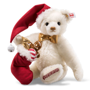 Sweet Santa Musical Teddy Bear 006562